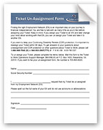 thumbnail image for Ticket Unassignment Form