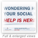 thumbnail image of banner: Wondering how work will affect your Social Security disability benefits? Help is here!