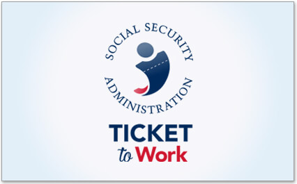 large image of Ticket to Work logo