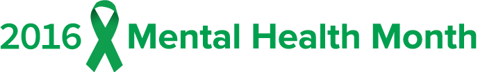 2016 Logo for the Mental Health Month