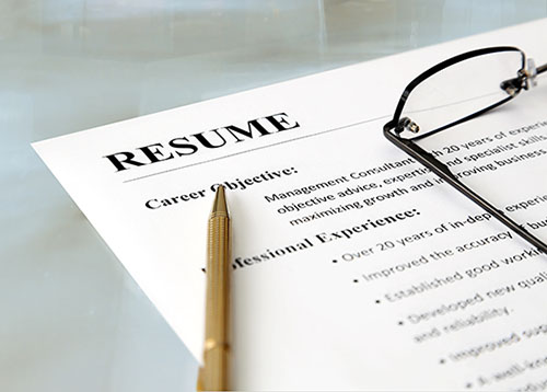 resumes the key to opening interview doors
