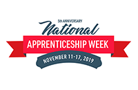 Logo of the National Apprenticeship Week