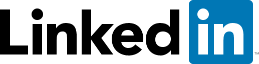 Logo for LinkedIn, an online social network for professionals, job seekers and employers