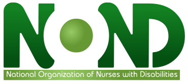 NOND logo (National Organization of Nurses with Disabilities)