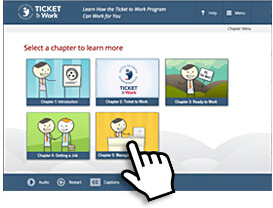 Screenshot of the Online Tutorials chapter page