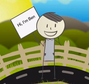 thumbnail image of the Meet Ben video