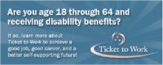 Ticket to Work website banner