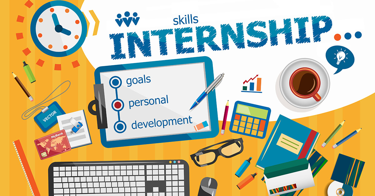 work and learn as an intern