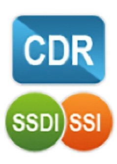 CDR, SSDI and SSI logos