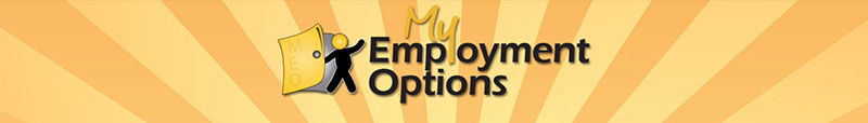 My Employment Options banner